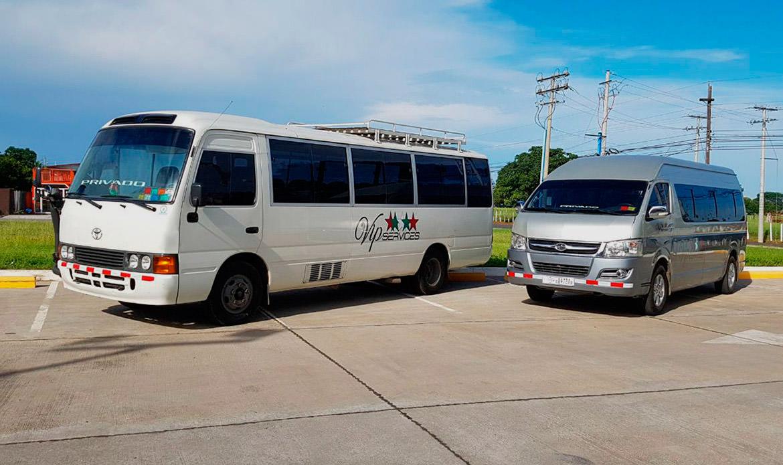 Transporte desde Chiriquí a Panamá