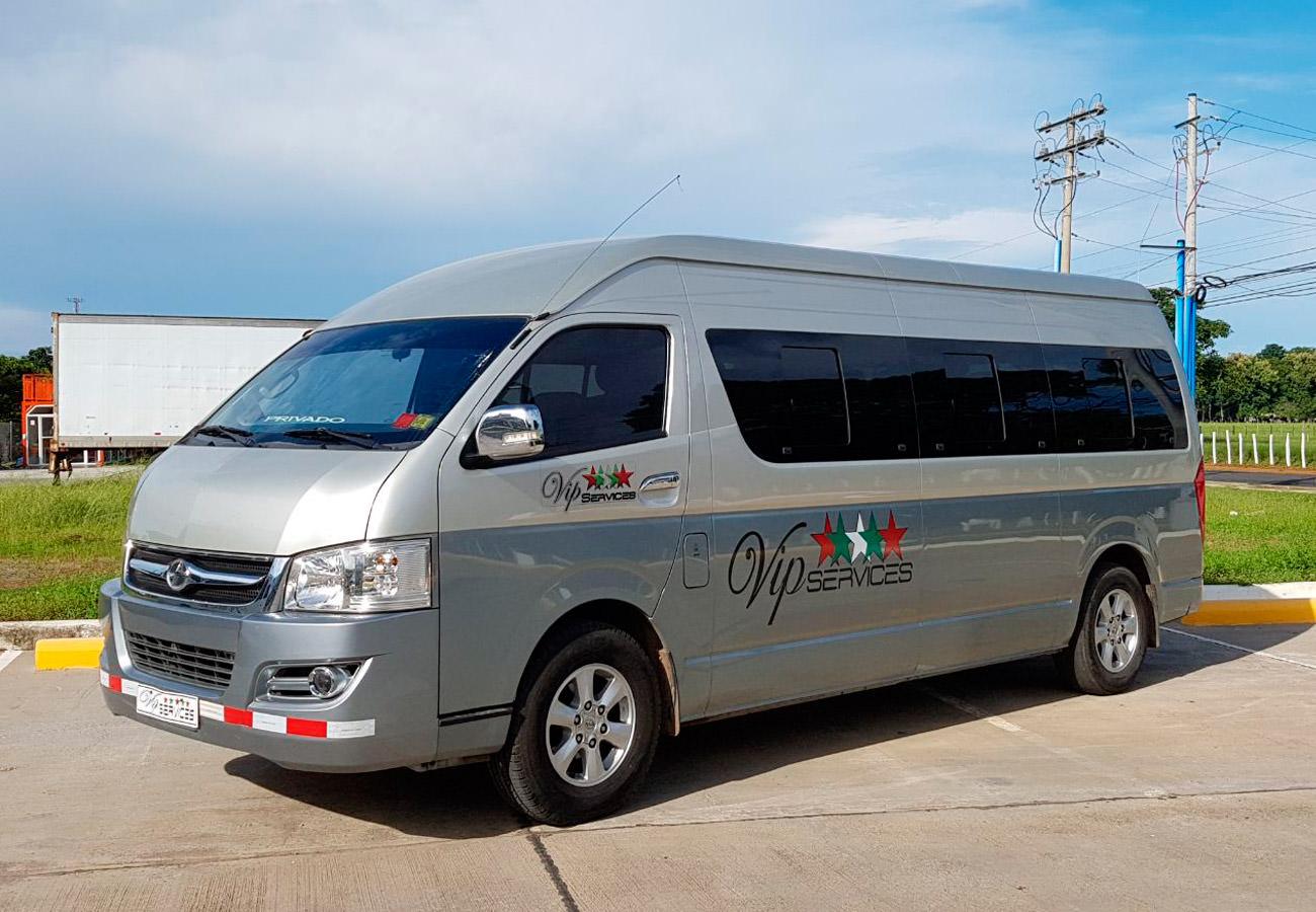 Transporte para viajes privados